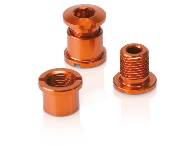 XLC Chainring Bolts 5-delige set, orange